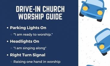 부활주일에 드라이브인 예배 시도하는 한인교회들